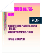 Boiler Performance Analysis