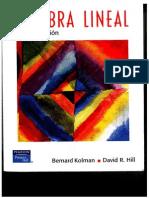 Algebra Lineal - 8va Edicion - Bernard Kolman David R. Hill