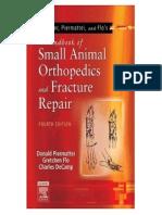 (Veterinary) Handbook of Small Animal Orthopedics and Fracture Repair...................