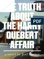 EXTRACT | The Truth About the Harry Quebert Affair