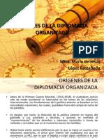 1238671ORÍGENES DE LA DIPLOMACIA ORGANIZADA