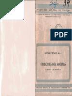 Informe Tecnico 6. Fundaciones Para Maquinas - Alberto Scardiglia