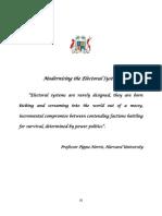 Consultation Paper - Electoral Reform
