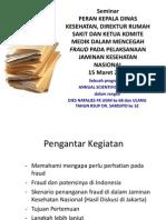 Laksono Pengantar Fraud 15 Maret 2014