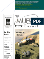 Cover of MUFON UFO Journal From March 1994. (Www.ufopOP.org)