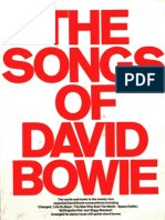 David Bowie - Songs (Piano)
