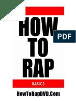 How to Rap Basics e Book