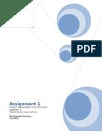 PMIT Assignment 1