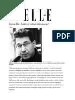 Zašto je važna tolerancija?  Zoran Ilić