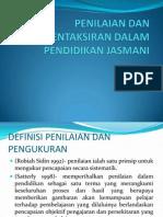 Bab 8 Penilaian Dan Pentaksiran Dalam Pendidikan Jasmani