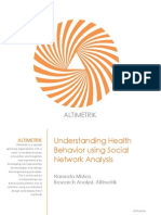 Understanding Health Behavior Using Social Network Analysis_white Paper_Altimetrik