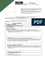 Fitxa Coneixquart 2013-2014 UPCCA Quart de Poblet