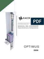 Manual Ascensor Optimus Ed2