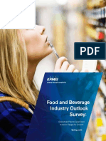 Food and Beverage Industry Outlook Survey 2012