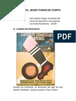 TEJAS VERDES,  NEGRO TUMOR DEL PUERTO ROJO  (III)