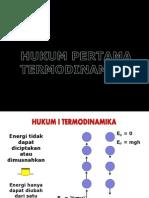 Hukum Termodinamika i