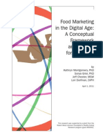 Bmsg Report Food Marketing in the Digital Age a Conceptual Framework.