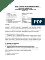 Silabo AE 2013-II