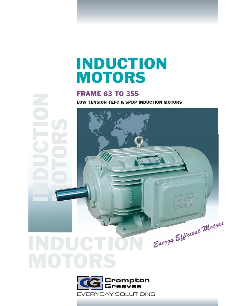 Sq Irr El Cage Motors | Electric Motor | Engines