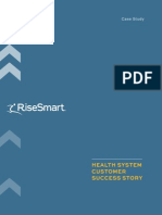 Risesmart's innovative approach to delivering a Redeployment solution for a health care delivery system