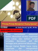 Prinsip-Prinsip Manajemen Operasi