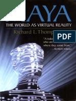 MAYA-The World as Virtual Reality