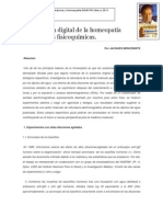 Propiedades fisicoquímicas transmisión digital de la homeopatía