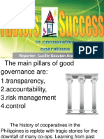 THE MAIN PILLARS OF GOOD GOVERNANCE - COOPERATIVE