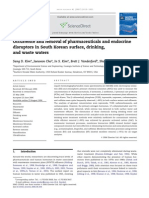 Occurrence and Removal of Pharmaceuticals and Endocrine Disrupter
