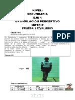 BATERÍAS DE CAPACIDADES FÍSICAS SECUNDARIAS