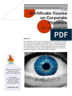 Corporate Vigilance Course