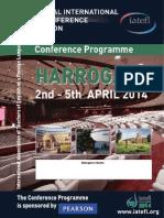 Harrogate 2014 Conference Programme