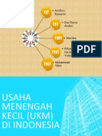 Usaha Menengah Kecil (UKM) di Indonesia