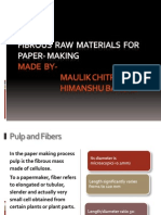 Fibrous Raw Materials for Paper- Making