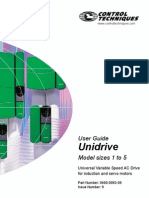 Unidrive User Guide Iss9