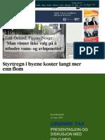Presentasjon om grønne tak for Oslo MDG av David Brasfield