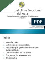Gestión del Clima Emocional