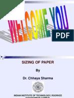 Sizing of Paper Presentation