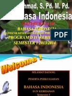 Bahasa Indonesia MKDU Poltekes