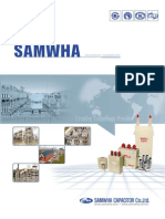 Catalogue Samwha Capacitor