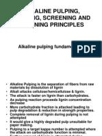 Alkaline Pulping