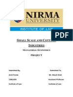 Eco-Small Scale Industries