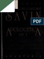 Ioan Gh. Savin - Apologetică vol. 1