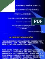 4.- DESCENTRALIZACION