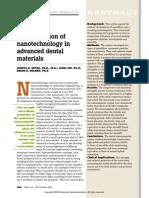 An Application of Nanotechnology in Advanced Dental Materials (1)
