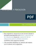 Anatomía y fisiología 1