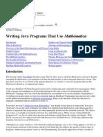 Java+Matematica