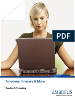 Amadeus Itinerary and More