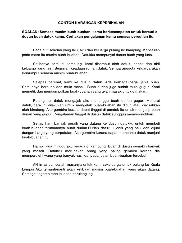 soalan sport karangan bahasa tamil spm 2011