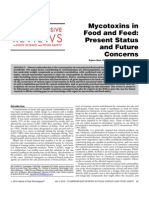 Mycotoxins in Food and Feed